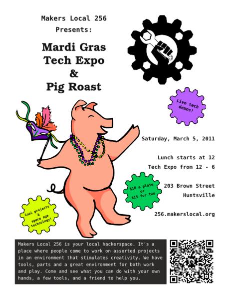 Pig Roast March 5 2011