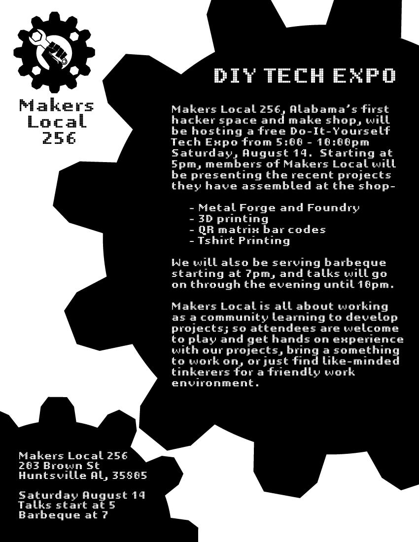 DIY Tech Expo Flyer