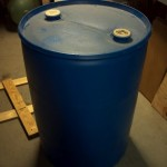 Plastic food grade barrel