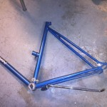 Need the wheel brackets from this old frame