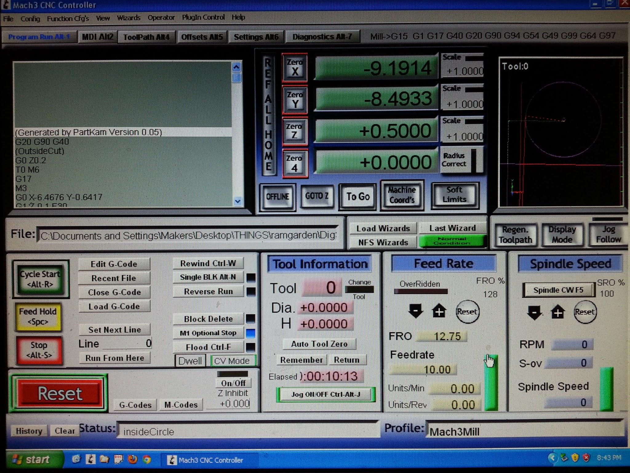 Artsoft mach3 программа для управление чпу станком программное.