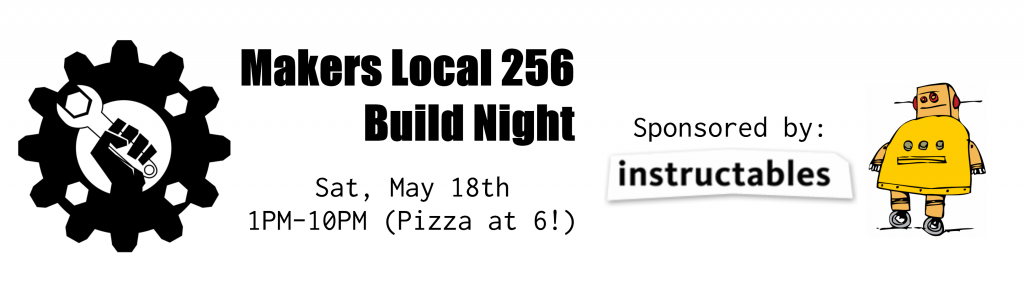 May Build Night Banner 2013