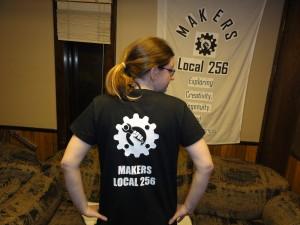 Finished ML256 t-shirt