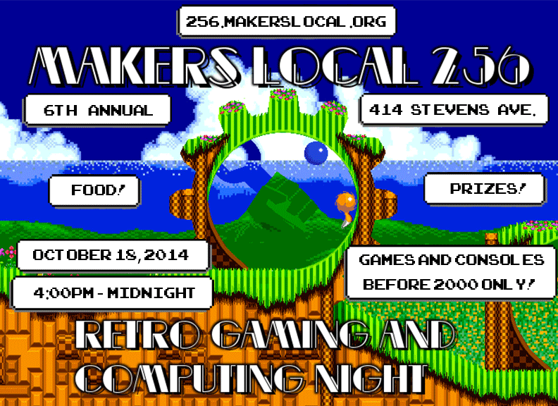 Retro Gaming & Computing Night 2014