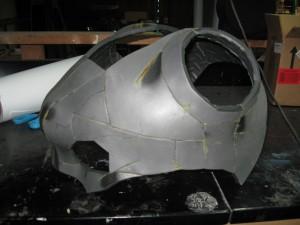 Bowser's head in progress